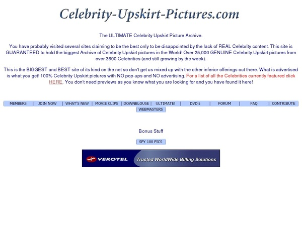 Celebrity Upskirt Pictures Become A Member