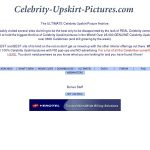 Celebrity Upskirt Pictures With Mastercard