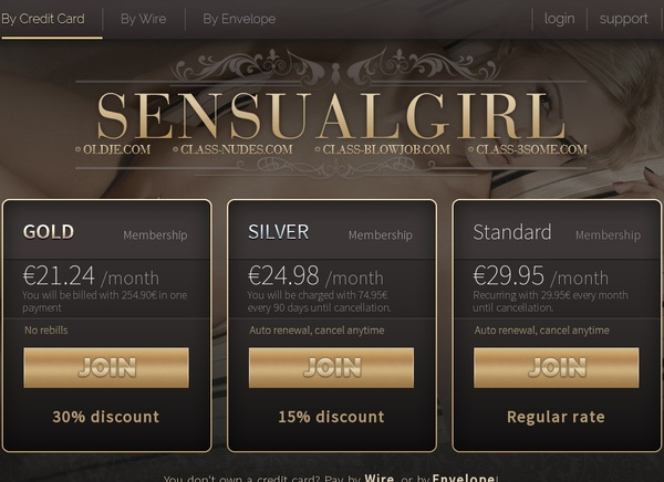 Discount For Sensual Girl