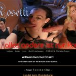 Rosetti Sign Up Page