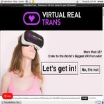 Virtual Real Trans Sign