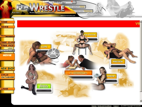 Login For Femwrestle.com