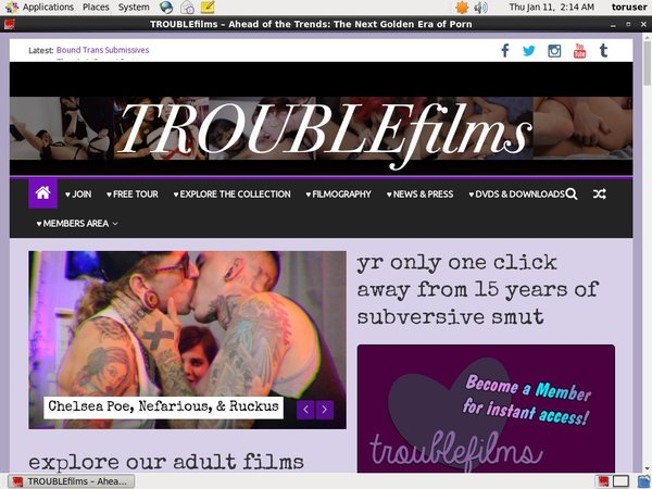 Xxx Troublefilms