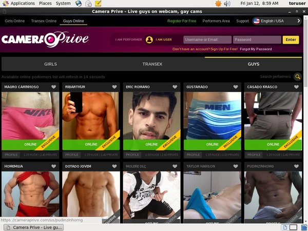 CameraPrive Gay Webcams Android