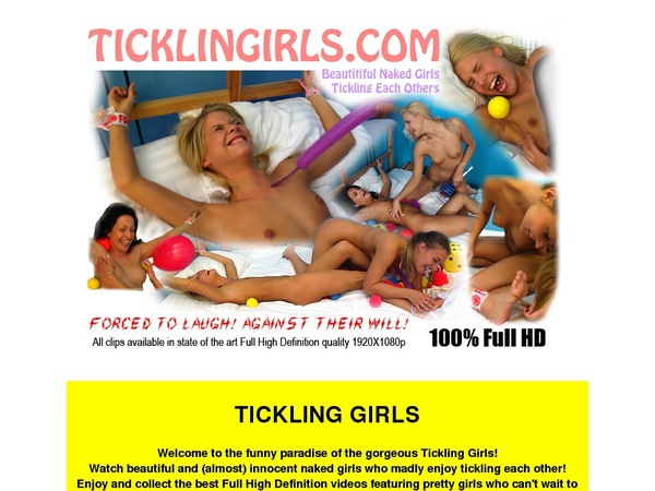 Ticklingirls Save Money