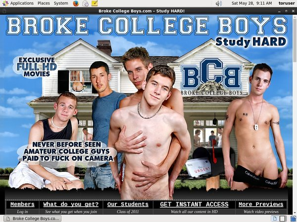 Broke College Boys By SMS